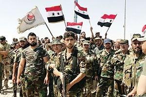 نتیجه تصویری برای سوریه در آستانه برپایی جشن نابودی داعش
