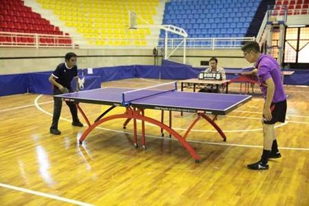 معرفی نفرات برتر تنیس روی میز مردان در بازی های کشوری تالاسمی
