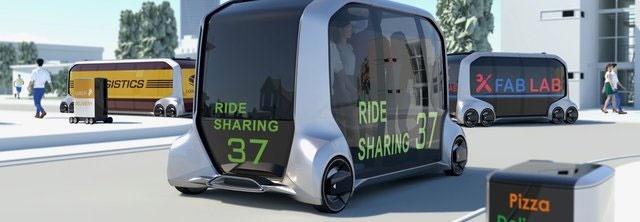 اتوبوس خودران مفهومی تویوتا با کاربردهای مختلف تویوتا