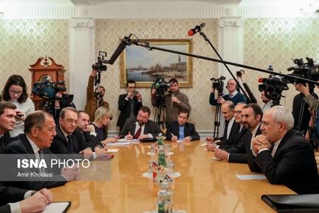وزیران امور خارجه روسیه و ایران