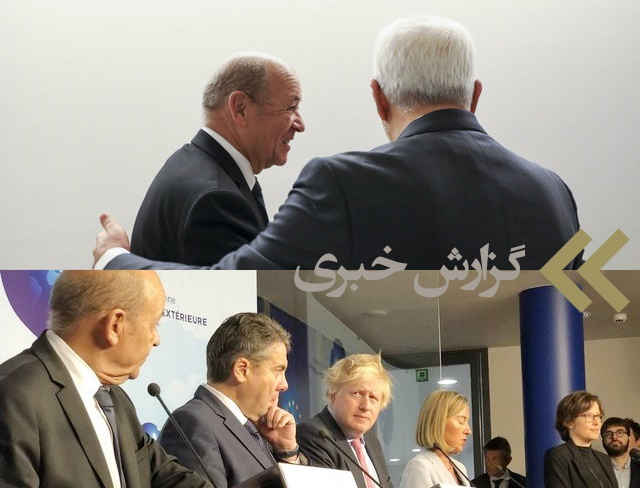 برجام   گزارش دیدارها و مذاکرات وزیر خارجه ایران