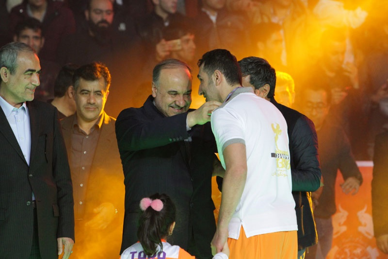 چند نما از قهرمانی تیم مس سونگون در لیگ برتر فوتسال
