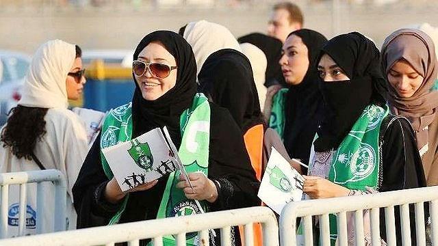حضور رسمی زنان عربستانی در ورزشگاهها