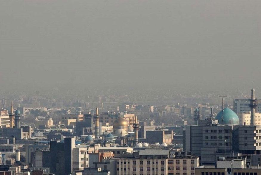تعطیلی همه مدارس مشهد به دلیل آلودگی هوا