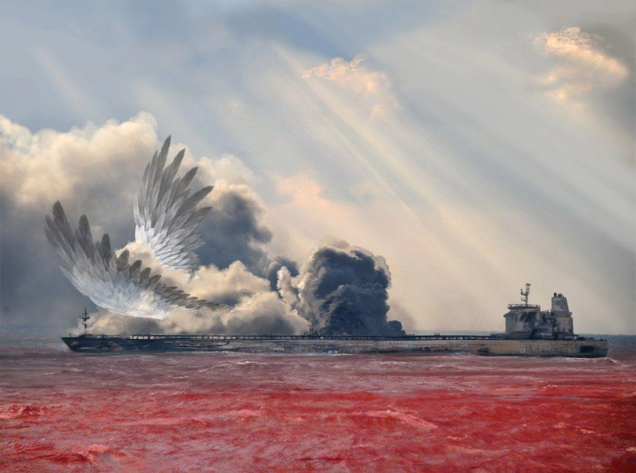 سالگرد شهادت دریانوردان دریاخفته نفتکش سانچی