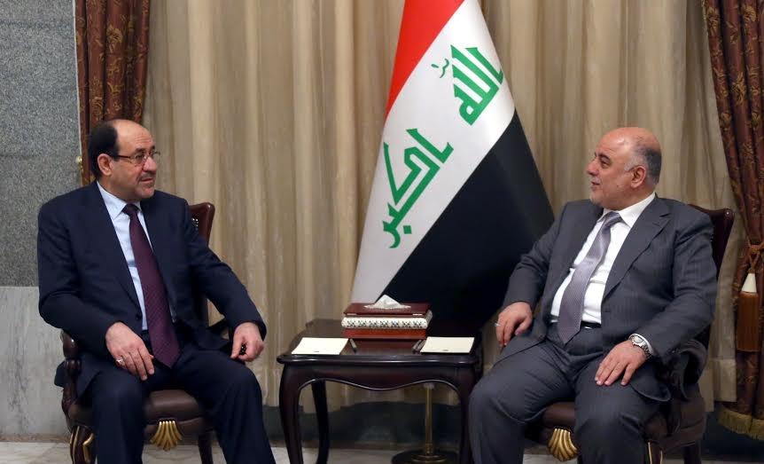 العبادی با ائتلاف النصر و مالکی با ائتلاف دولت قانون وارد انتخابات میشوند