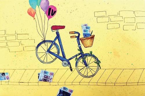 دوچرخه شماره ۹۱۰