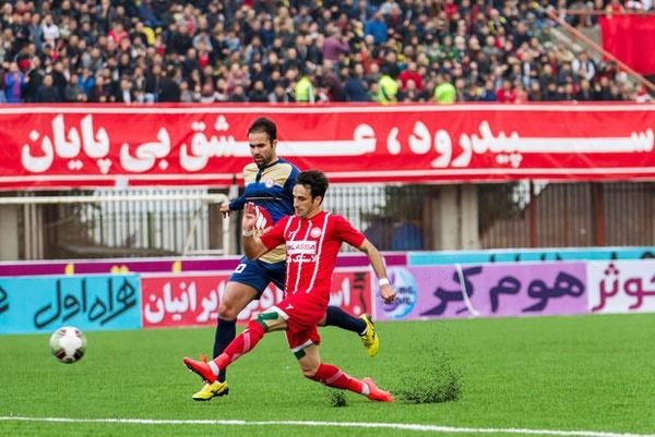 نفت تهران و سپیدرود پیروز بازیهای هفته بیستم