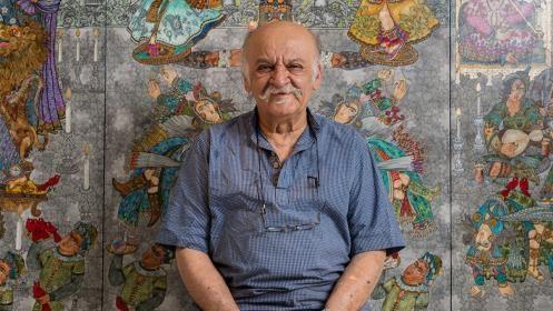 نمایش آثار علی اکبر صادقی در موزه هنرهای معاصر تهران