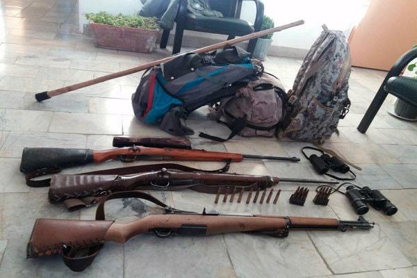 دستگیری شکارچیان غیرمجاز در دماوند
