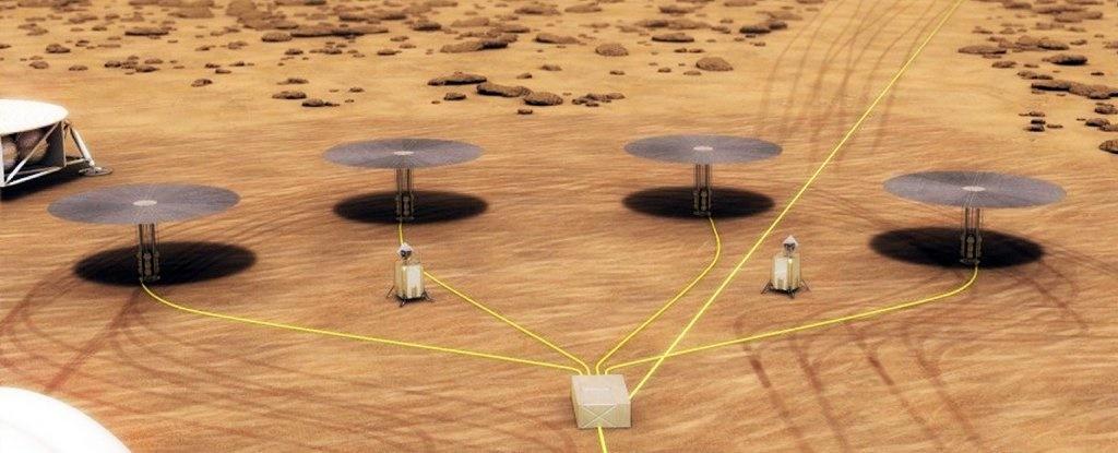 ناسا رآکتورهای مریخیاش را آزمایش میکند
