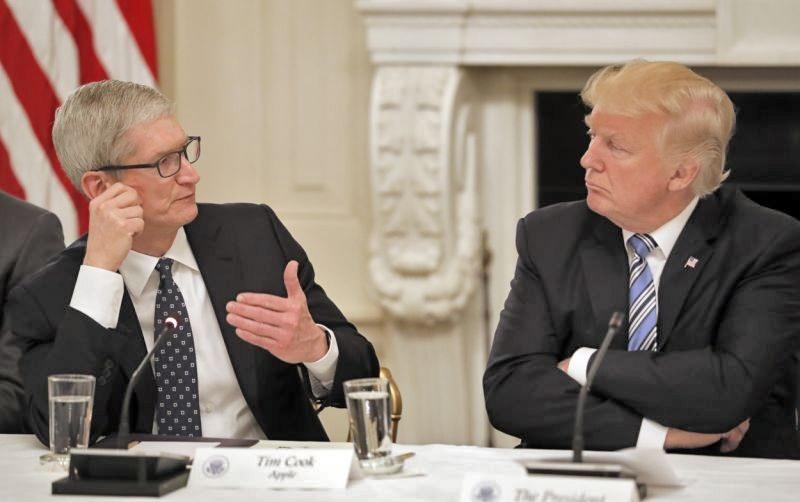 ترامپ و سرمایهگذاری کلان شرکت اپل در آمریکا