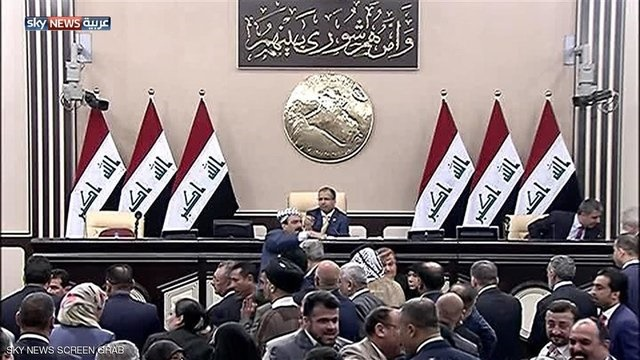 پارلمان عراق برگزاری انتخابات در ۱۲ مه را تصویب کرد