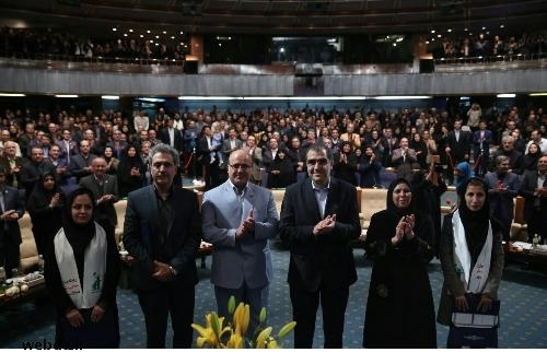 تجلیل از پرستاران فداکار زلزله کرمانشاه