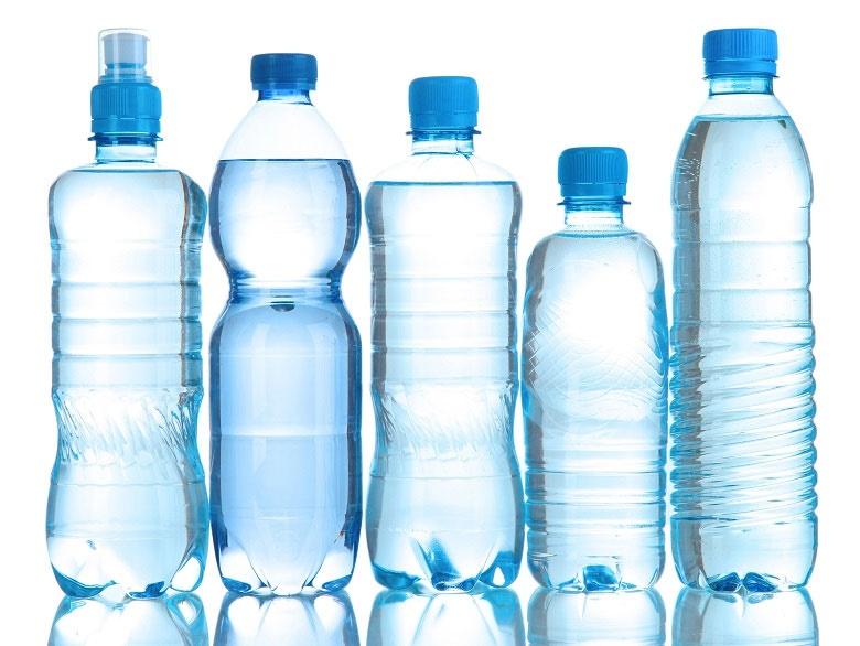 کمتر از بطریهای آب استفاده کنید