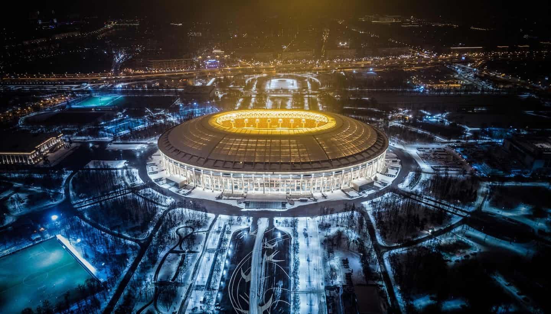 عکس روز: استادیوم فینال جام جهانی