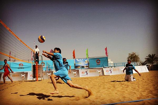 شهرداری کردکوی قهرمان والیبال ساحلی جانبازان و معلولین کشور شد