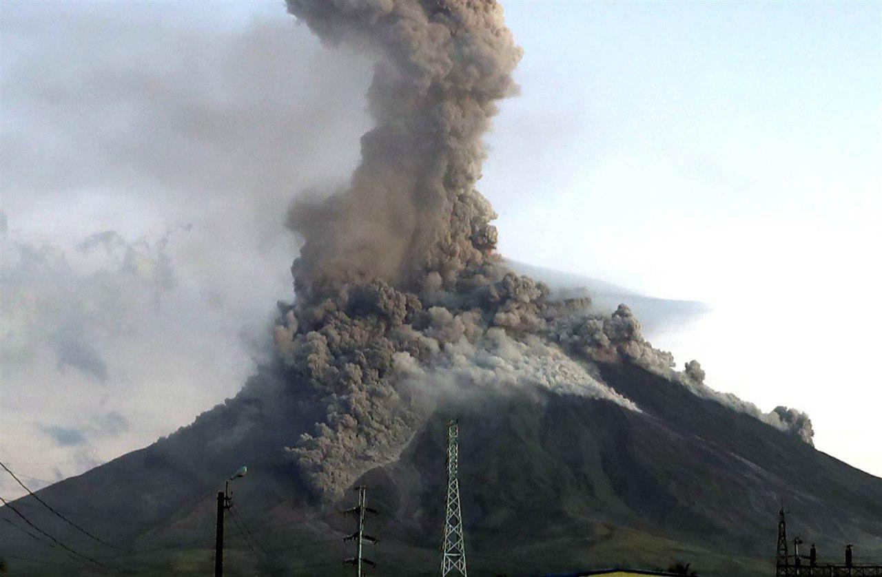 آتشفشان مایون فیلیپین در آستانه انفجار