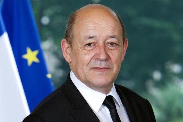 ژان ایو لودریان» وزیر خارجه فرانسه