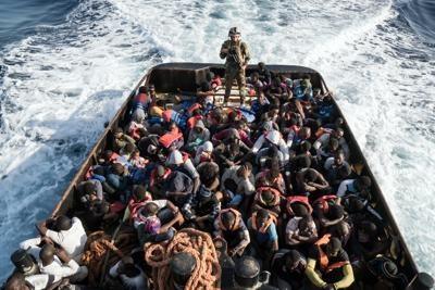 بیش از ۳۱۰۰ پناهجو سال ۲۰۱۷ در مدیترانه جان باختند