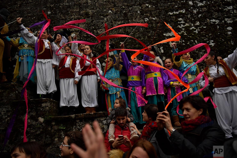 The Cabalgata Los Reyes Magos