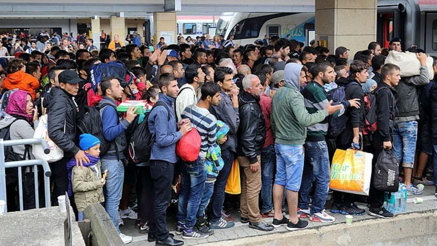 فرانسه| ثبت بیش از ۱۰۰ هزار درخواست پناهندگی در سال ۲۰۱۷