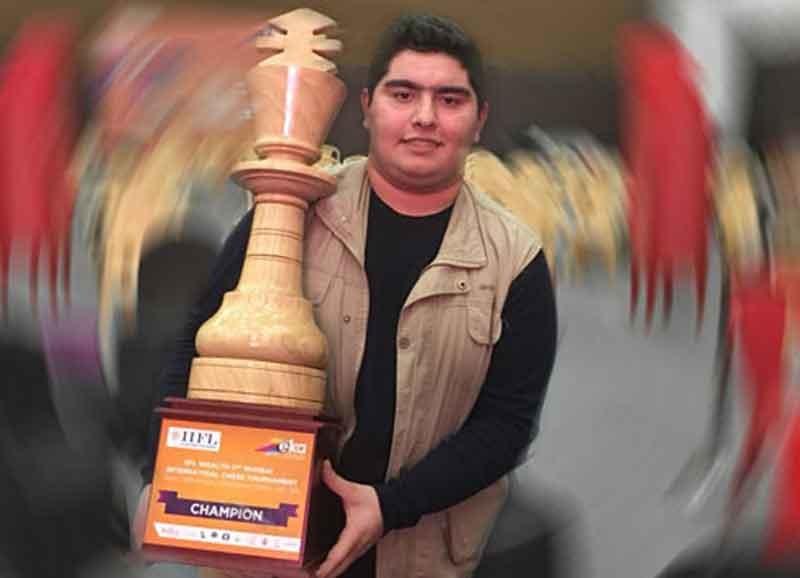 قهرمانی پرهام مقصودلو در شطرنج آزاد مومبای