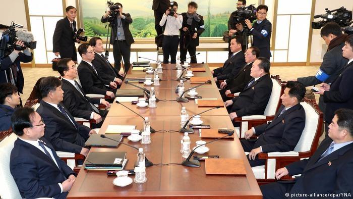 نتایج موفقیت آمیز نخستین دور مذاکرات ۲ کره