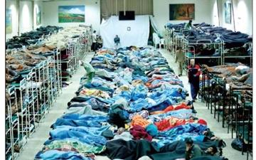 یک تخت مددسرا تنها سهم بیخانمانها از شهر