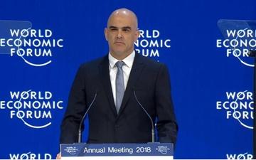 آغاز مجمع جهانی اقتصاد در داووس | تاکید رئیس جمهور سوئیس بر همکاری بین المللی