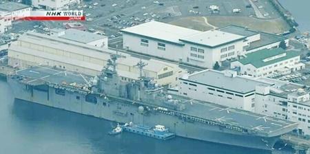 آمریکا ناو جنگی آبی - خاکی جدید در ژاپن مستقر کرد