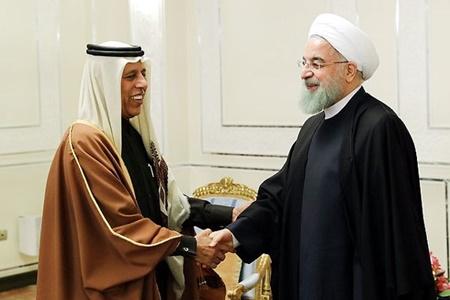 دیدارهای روحانی با روسای مجلس کشورهای قطر، عراق، سنگال، الجزایر و سوریه
