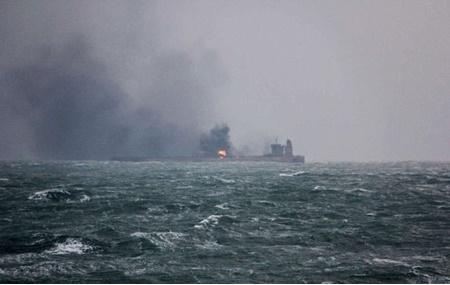 آلودگی آب,حوادث,تصادف، قطار و کشتی,چین,محیط زیست جهان,اقیانوس آرام