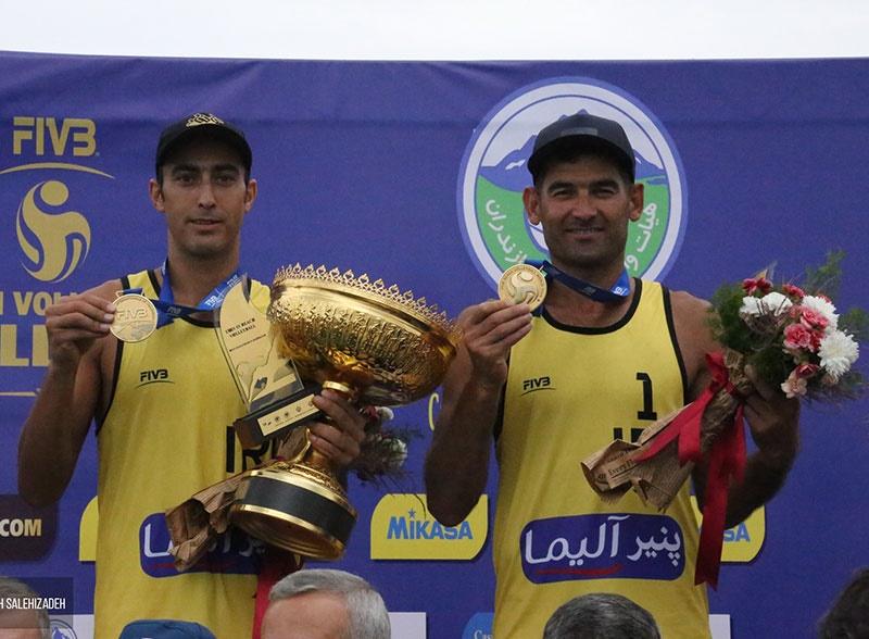 ایران دو قهرمان تورجهانی تک ستاره والیبال ساحلی بابلسر شد