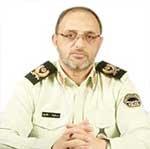سردار «عبدالرضا ناظری» رئیس پلیس شرق تهران