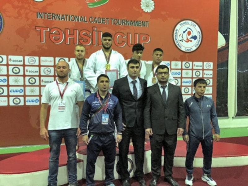 جودو بینالمللی نوجوانان | آذربایجان؛ کرجی به مدال طلا رسید