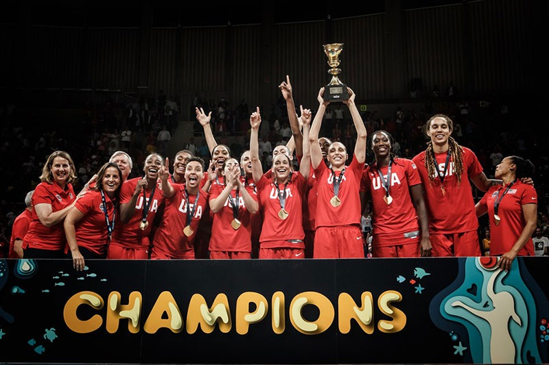 تیم ملی بسکتبال آمریکا قهرمان جام جهانی زنان شد
