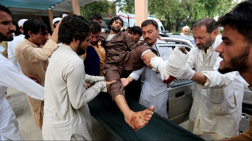 انفجار در یک تجمع انتخاباتی در شرق افغانستان