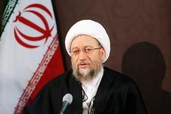 آملی لاریجانی: دستگاه قضایی اجازه نمیدهد چند طمع ورز معیشت مردم را بازی بگیرند