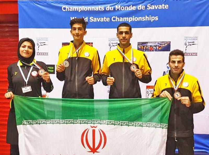 یک مدال نقره و سه برنز حاصل کار تیم ملی ساواته در مسابقات جهانی بلغارستان