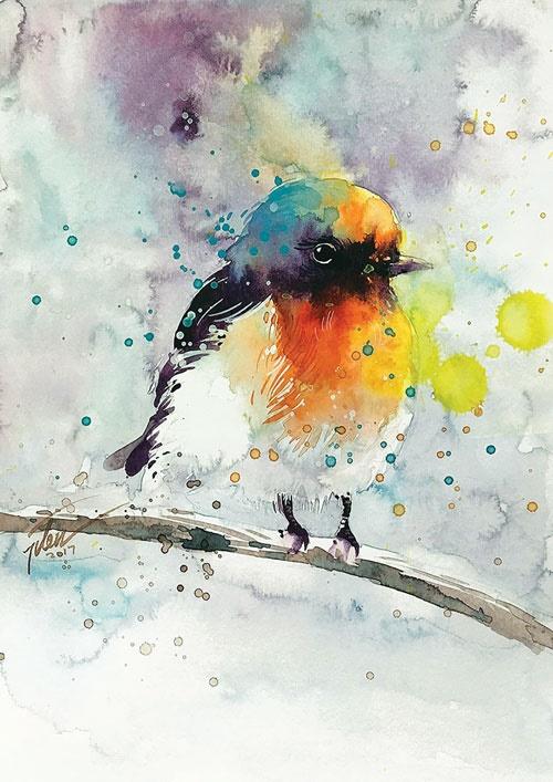 پرندهای در قلب من