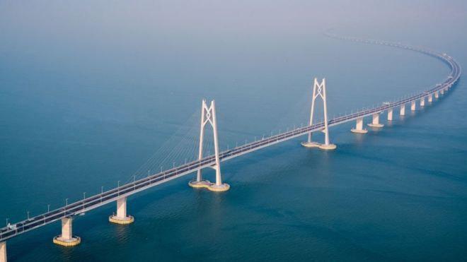 چین | افتتاح طولانیترین پل دریایی جهان