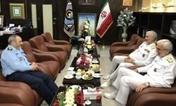 رئیس سازمان صنایع دریایی وزارت دفاع با فرمانده نیروی هوایی ارتش دیدار کرد