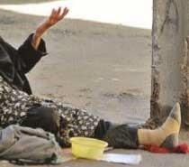 گداها در تهران روزی ۴ میلیون تومان درآمد دارند