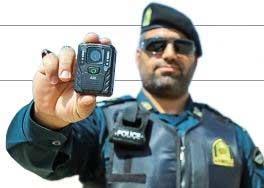 پلیس با دوربین فناوری برای اجرای قانون