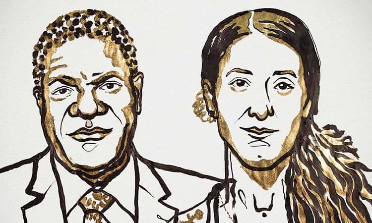 برندگان جایزه صلح نوبل ۲۰۱۸