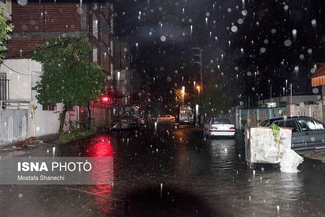 بارش شدید باران باعث آبگرفتگی شهرستانهای شرق گیلان شد