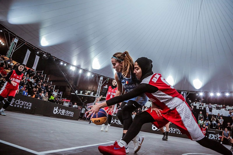 جام جهانی بسکتبال سه نفره زیر ۲۳ سال؛ صعود دختران ایران به مرحله یک چهارم