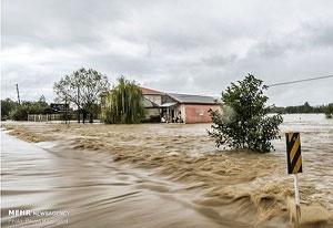 سیل شمال؛ انسداد ۱۵ راه روستایی در گیلان | رکورد شکنی میزان باران در کشور