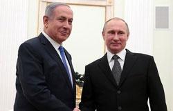 نتانیاهو پوتین